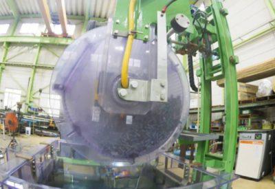 160kgバレル・補助陽極付き(槽上回転)